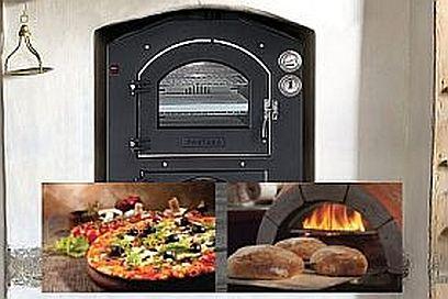 Brot und Pizza aus dem Holzbackofen oder Steinbackofen