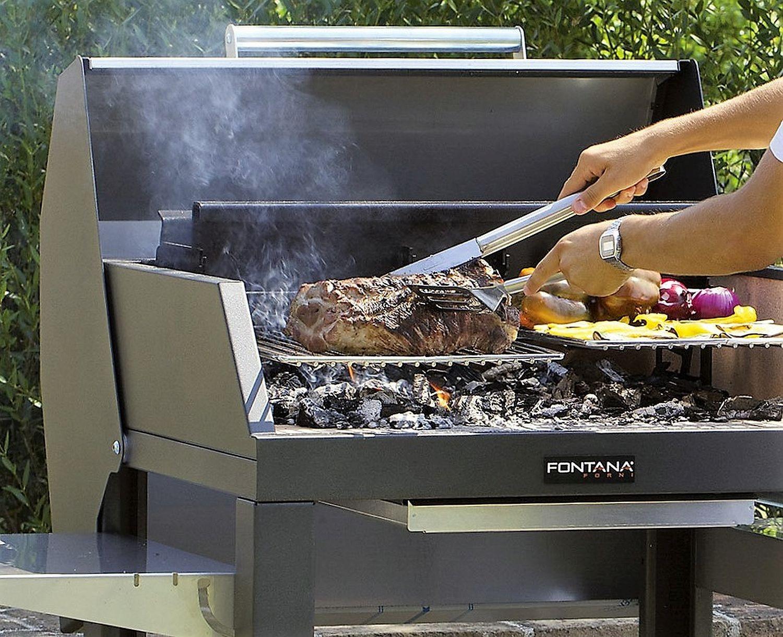 Mediterraneo BBQ-Grill für Holzkohle und Holz Befeuerung der Superlative