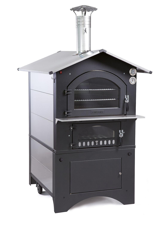 Holzbackofen Pizzaofen Gusto 80 ein mobiler-Gartenofen der extra Klasse