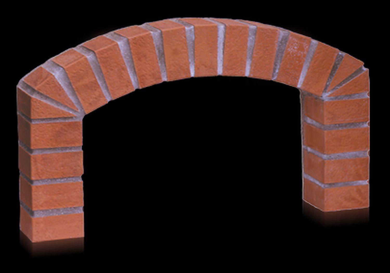 Ziegelboden Portalbogen für Valoriani Steinbacköfen der FVR Serie
