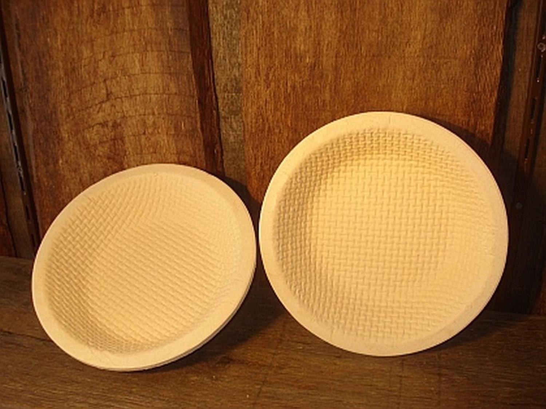Gärkorb Gärkörbchen Simperl aus Holzschliff rund für 1,5 kg Brote mit Waffelmuster