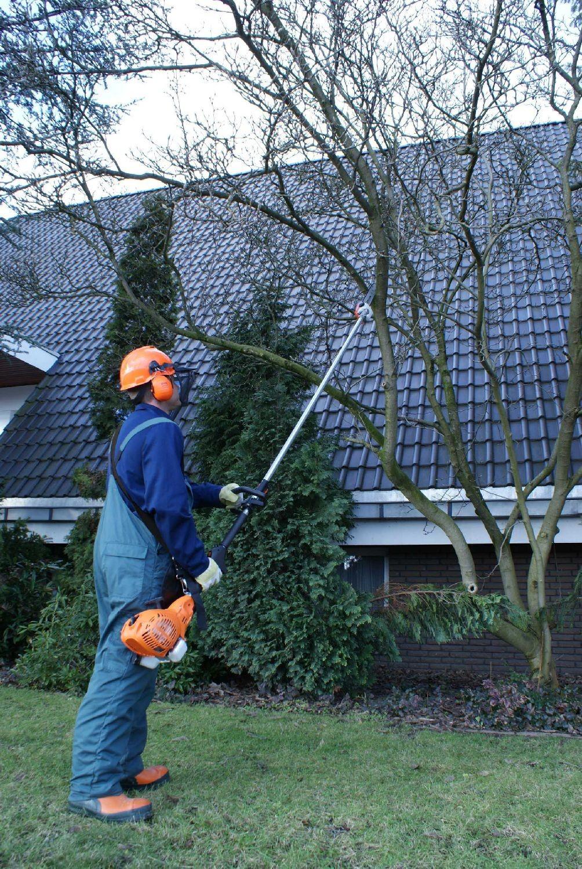 4in1 Motor-Gartenpflege Set ATIKA  BMGS 30 vielseitiges Kombigerät für die Rasen- Hecken- und Baum-Pflege