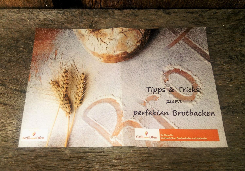 Gärkorb Gärkörbchen Simperl aus Holzschliff für 0,5 kg Brote rund mit Rillenmuster