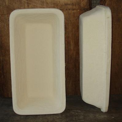 Gärkorb Gärkörbchen Holzschliff für 1,25 kg Brote lang glatt eckig, inkl. Info
