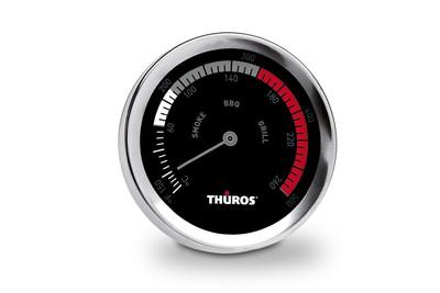 Thüros Thermometer für Grills, Smoker und Räucherschränke bis 260° C