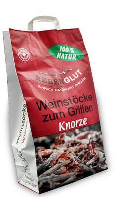 Grillholz Weinstöcke Knorzen zum Grillen 3 x 4,0 kg