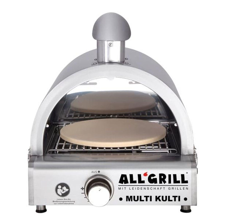 Multi-Kulti Set 3 Gas-Pizzaofen Grill ohne Zündsicherung vielseitig in der Nutzung als Pizzaofen oder Gasgrill