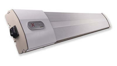 HeatZone white 1800 W Heizstrahler Infrarotstrahler Dunkelstrahler (ohne Steuerung)