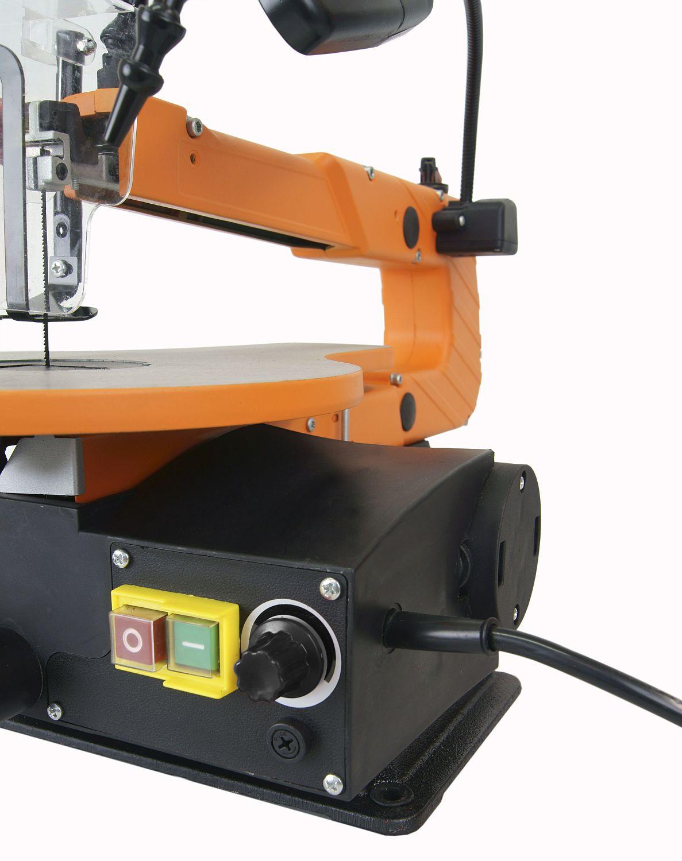 Dekupiersaege, Modellbausaege Atika DKV 400-2 für optimales schneiden von verschiedenen Materialien