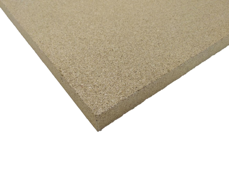 Vermiculite-Platten als Bodenisolierung für Holzbacköfen, Steinbacköfen und Pizzaöfen