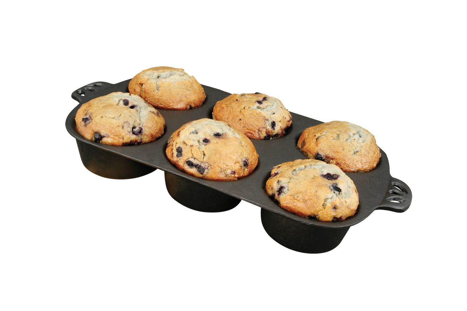 Muffin Brownie Backform Gusseisen Camp Chef