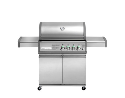 Gasgrill CROSSRAY by HEATSTRIP 4-Brenner mit Infrarot-Technologie