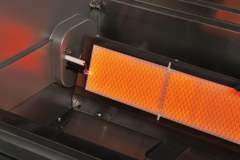 Gasgrill CROSSRAY by HEATSTRIP 2-Brenner mit Infrarot-Technologie