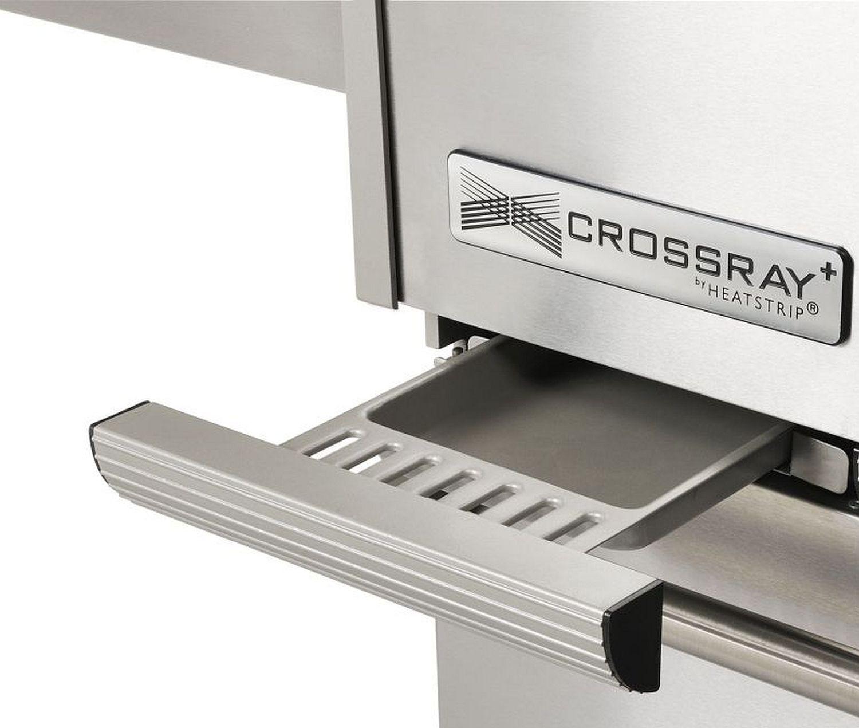 Einbau-Gasgrill CROSSRAY by HEATSTRIP 4-Brenner mit Infrarot-Technologie