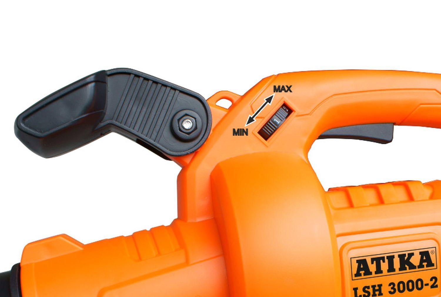 Elektro Laubsauger ATIKA LSH 3000-2 der starke Helfer bei der Gartenpflege