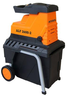 ATIKA ALF 2600-2 Elektro Leise-Walzenhäcksler Gartenhäcksler