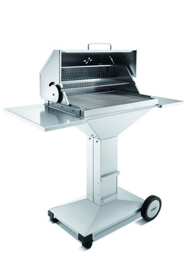 Thüros T4 BBQ Station TKE 4060 BBQS Barbecue-Holzkohle-Grill