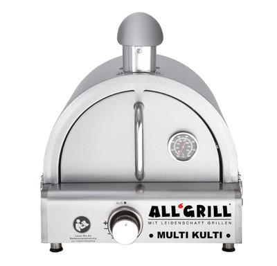 Multi-Kulti Set 4 Gas-Pizzaofen Grill mit Zündsicherung