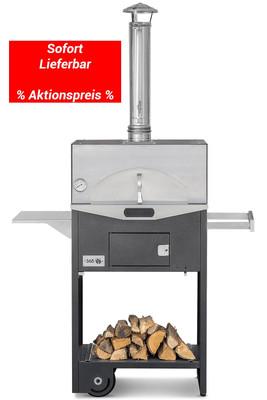 Focarius multifunktionaler Holzbackofen | Pizzaofen | Grill | Plancha