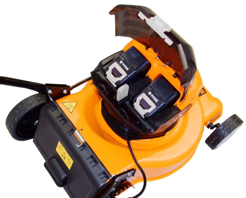 ATIKA Akku-Rasenmäher RMC 40-400 für bequeme Rasenpflege ohne störendes Kabel und Abgase