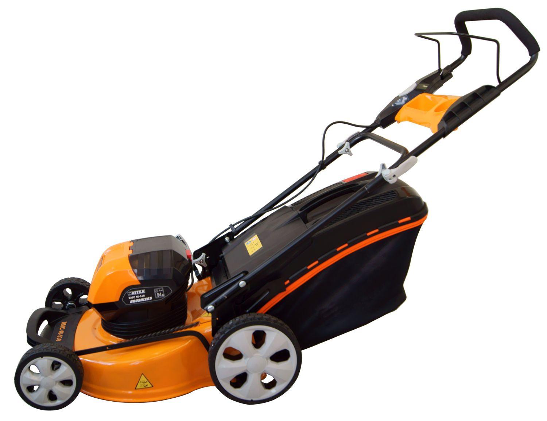 ATIKA Akku-Rasenmäher RMC 40-510 für bequeme Rasenpflege ohne störendes Kabel und Abgase