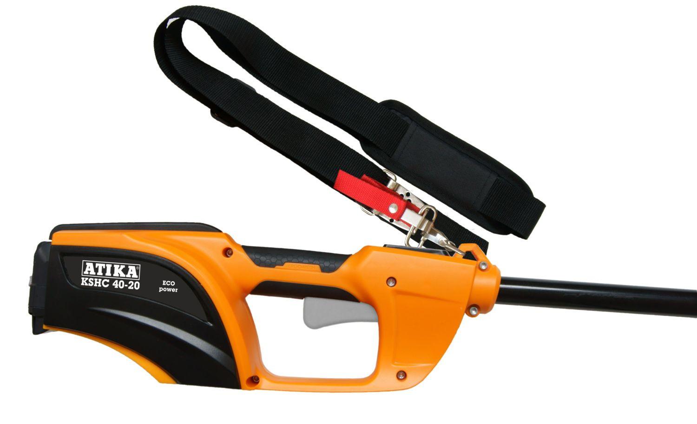 ATIKA Akku Hochentaster KSHC 40-20 ideal für die Baumpflege an schwer zu erreichenden Ästen