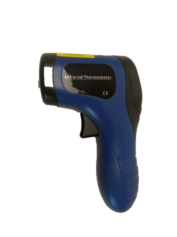 Infrarot-Temperaturmessgerät | Laser-Thermometer für Holzbacköfen & Pizzaöfen perfekt zum Messen der Backraumtemperatur