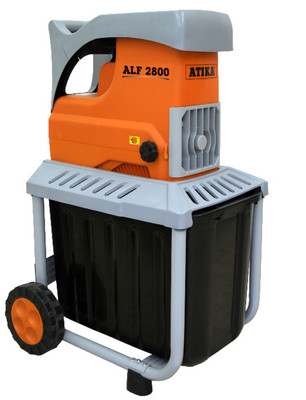 ATIKA ALF 2800 Elektro Leise-Walzenhäcksler Gartenhäcksler