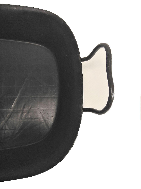 Helmensdorfer Fisch-Bratpfanne | Servierpfanne 24 x 38 cm geschmiedete Eisenpfanne perfekte Pfannenform und Größe zum Braten von Fischen