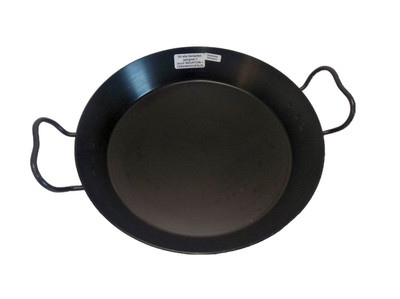 Helmensdorfer Paellapfanne | Bratpfanne 30 cm gebläute Eisenpfanne
