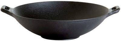 Gusseisen Wok 25 cm Durchmesser