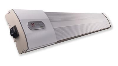 HeatZone ExRemote white 2400 W Heizstrahler Infrarotstrahler Dunkelstrahler inkl. Steuerung
