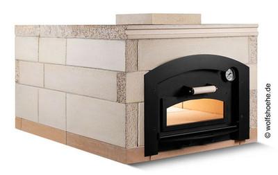 Holzbackofen Steinbackofen Bausatz REMUS | 3 Größen zur Auswahl